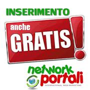 inserimento network portali